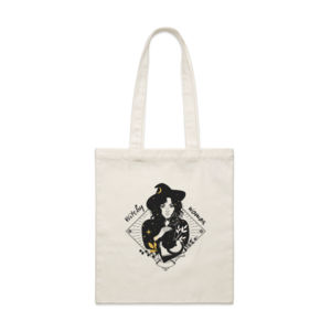 Witchy woman tote bag Thumbnail